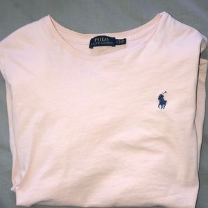 Ralph Lauren Light Pink Tee